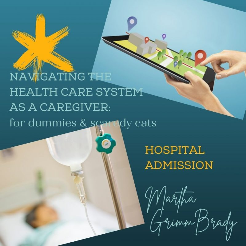 This week we are discussing hospital admissions. How do doctors decide if you have to ne admitted? Do they just throw the dice and hope for the best? #hospitaladmission #navigatinghealthcaresystem #caregivers